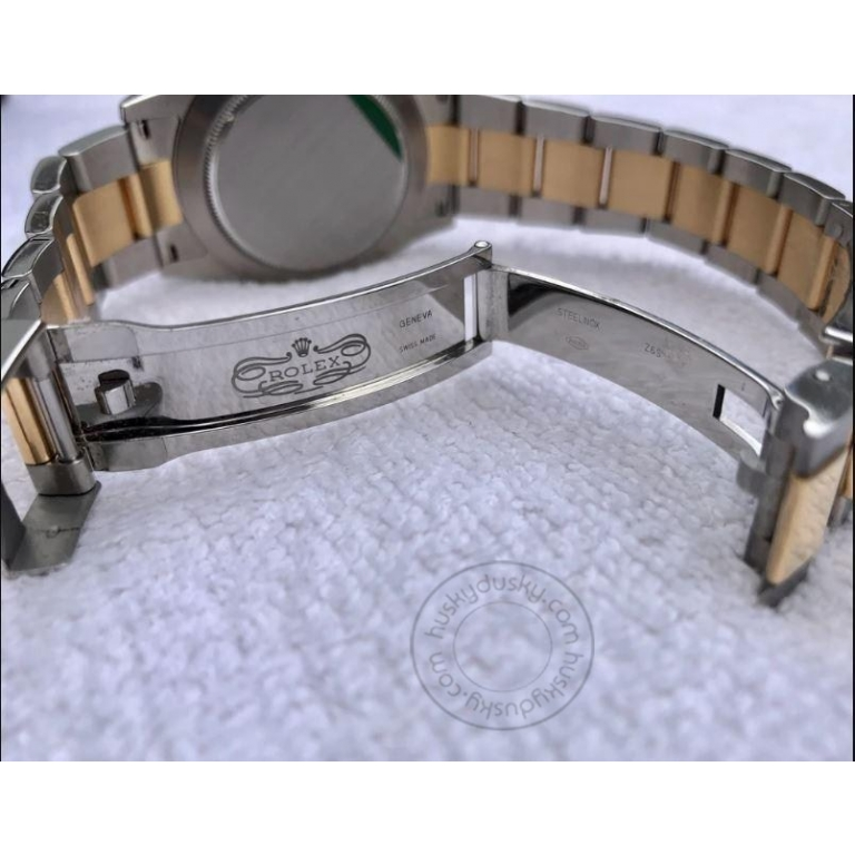ROLEX Chronograph Automatic Two-Tone Men's Watch For Man RLX-SG Multi Color Dial Date Gift Watch