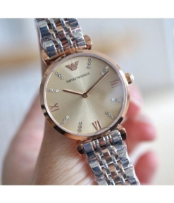 Emporio Armani Watch AR1840 Grey Dial Multi Color Strap For Women-Best gift