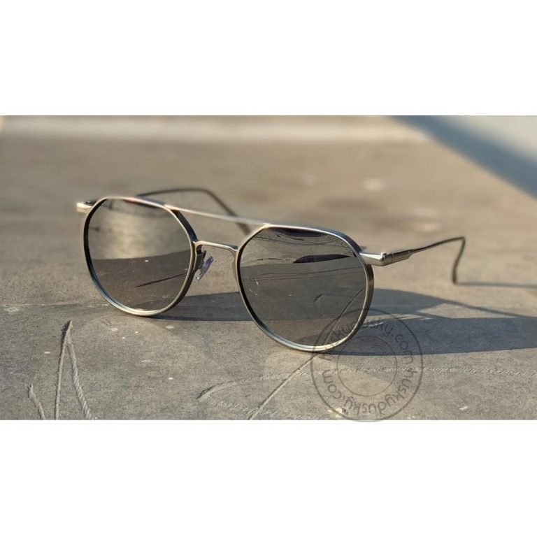 Marc jacobs Branded Silver Round Glass Men's and Women's Sunglass For Man and Woman or Girl MJ-15 Silver Stick Sunglass