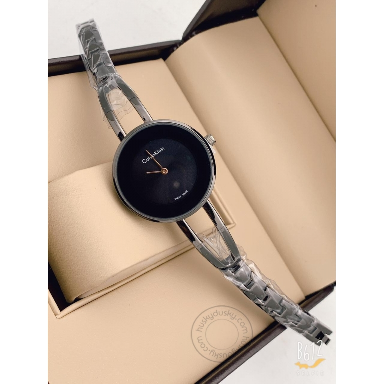 Calvin Klein Grey Women's Watch For Girl or Woman CK-102 Multi Color Dial Metal Strap- Gift
