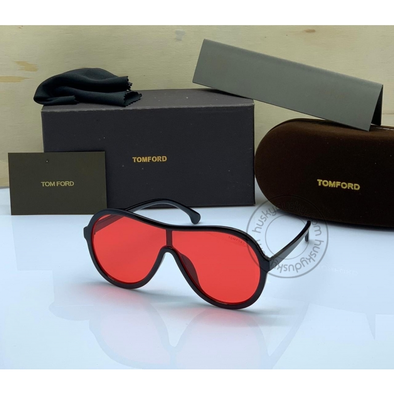Tom Ford Latest Design Red Color Round Sunglass Men's Women's For Man Woman or Girl TF-310 Black Frame Sunglass