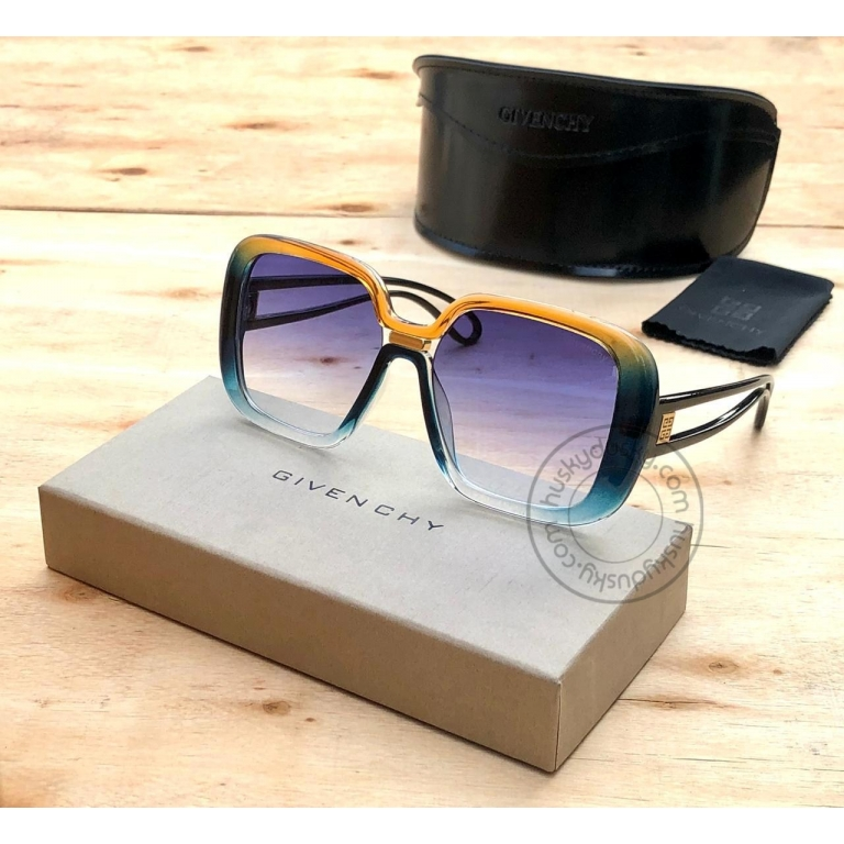 Givenchy Branded Multi Color Glass Women's Sunglass for Woman or Girl GY-178 Desingn Stick Frame Gift Sunglass