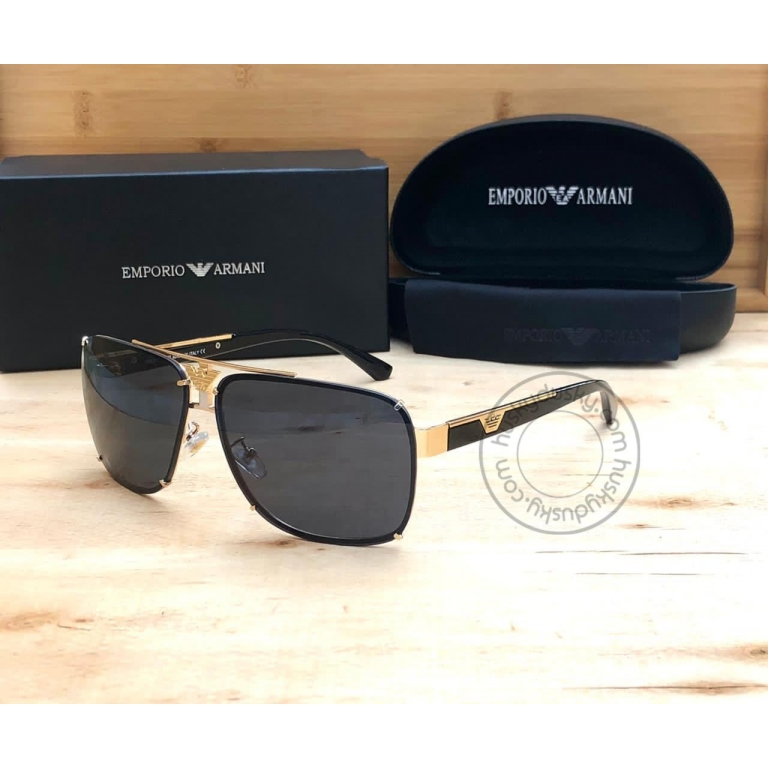 Emporio Armani Branded Black Glass Men's and Women's Sunglass For Man and Woman Or Girls ARM-500 Multi Color Stick Unisex gift Sunglass