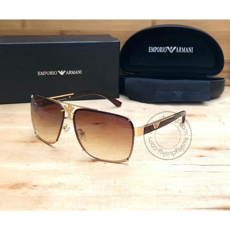 Emporio Armani Branded BrownGlass Men's and Women's Sunglass For Man and Woman Or Girls ARM-505 Multi Color Stick Unisex gift Sunglass