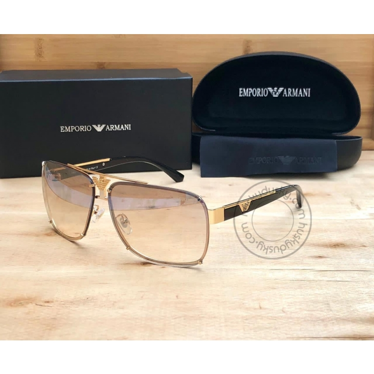 Emporio Armani Branded Peach Glass Men's and Women's Sunglass For Man and Woman Or Girls ARM-515 Multi Color Stick Unisex gift Sunglass