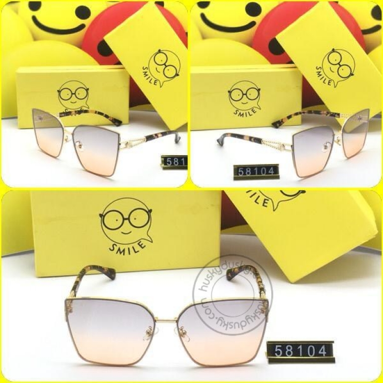 Smile Multi Color Glass Women's Sunglass for Woman or Girl SM-D-44 Multi Color Frame Gift Sunglas
