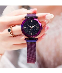 Cool Design Magnetic Strap Watch For Women