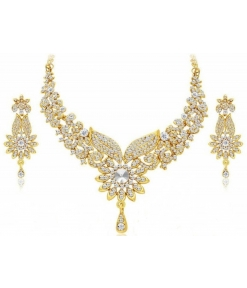 Gold Plated Party Necklace Set