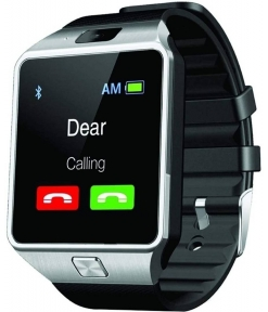 Silver Smartwatch With Unlimited Features DZ09