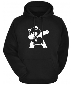 Men's Black Cotton Blend Printed Long Sleeves Regular Hoodies Made With Superior Quality Material