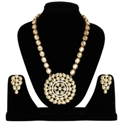 Trendy Alloy Pearl Necklace Set For Women